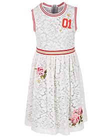 Big Girls Lace Athletic Dress