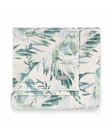 Tommy Bahama Wallpaper Leaves Castaway Ultra Soft Plush Throw