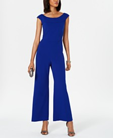 Connected Wide-Leg Jumpsuit