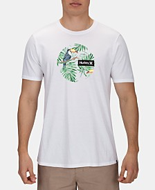 Hurley Men's Escalante Logo Graphic T-Shirt