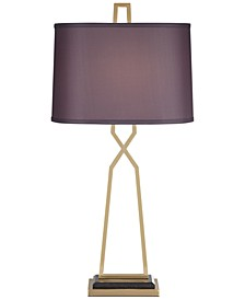 Tall X Table Lamp