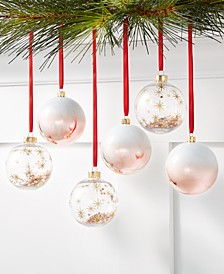 Dreamland Shatterproof Multicolor Ornaments, Set of 6, Created for Macy's