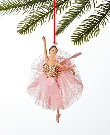 Ballet Ballerina with Pink Tutu Ornament, Created for Macy's