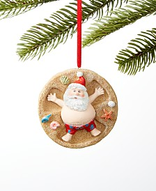 Holiday Lane At the Beach Santa on the Beach Ornament, Created for Macy's