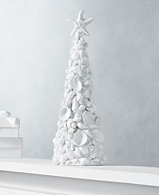 Holiday Lane Seaside Large Shell Tree, Created for Macy's