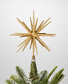 Holiday Lane Shine Bright Bursting Star Tree Topper, Created for Macy's