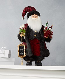 Wine Santa with Wine List, Created for Macy's