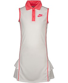 Nike Little Girls Sportswear Polo Dress