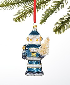 Holiday Lane Spaced Out Robot Santa Ornament, Created for Macy's