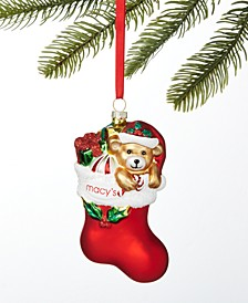 Macy's Stocking with Gifts Ornament, Created for Macy's