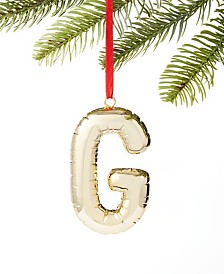 Holiday Lane Initials G Ornament, Created for Macy's