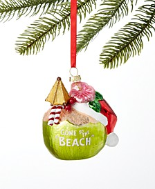 Hawaii Coconut Cocktail Ornament, Created for Macy's