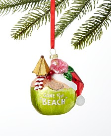 Holiday Lane Hawaii Coconut Cocktail Ornament, Created for Macy's