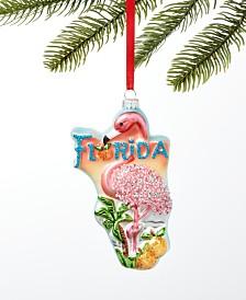 Holiday Lane Florida Flamingo Ornament, Created For Macy's