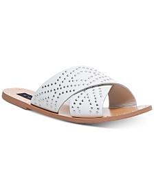 STEVEN by Steve Madden Women's Girlish Studded Sandals