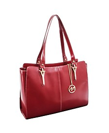 Glenna Ladies Tote with Tablet Pocket