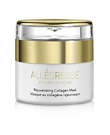 Allegresse 24K Skincare Rejuvenating Collagen Mask 1.7oz