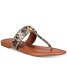 Jessie Buckle Thong Sandals