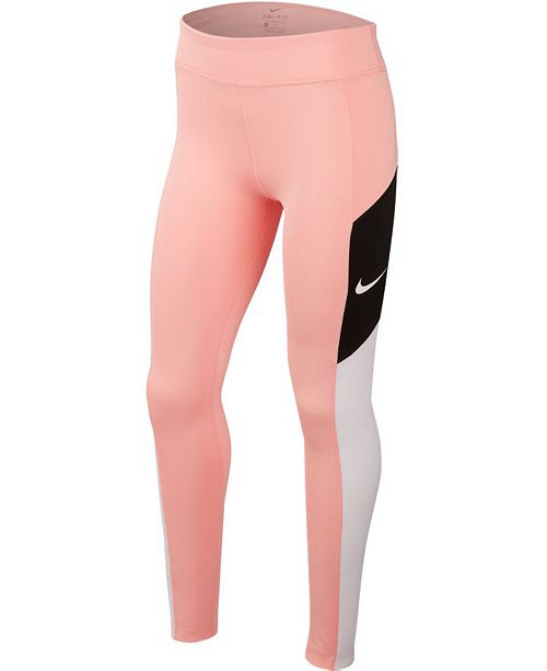 Nike Big Girls Colorblocked Trophy Tights