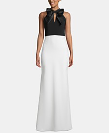 XSCAPE Bow-Top Gown