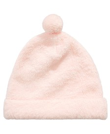 First Impressions Baby Girls Faux-Fur Hat, Created for Macy's