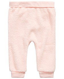 Baby Girls Faux-Fur Jogger Pants, Created for Macy's