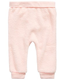 First Impressions Baby Girls Faux-Fur Jogger Pants, Created for Macy's