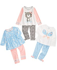 First Impressions Baby Girls Animal Print Mix & Match Separates, Created for Macy's