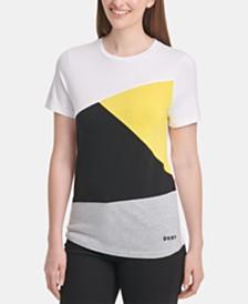 DKNY Crewneck Colorblock T-Shirt