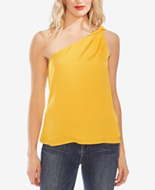 Vince Camuto Asymmetrical One-Shoulder Top