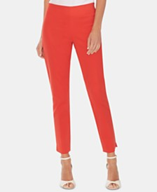 Vince Camuto Vented-Cuff Skinny Pants