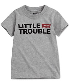 Levi's® DADDY & ME COLLECTION Little Boys Little Trouble Graphic T-Shirt