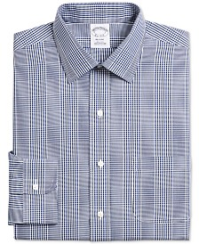 Brooks Brothers Men's Navy Dress Shirt