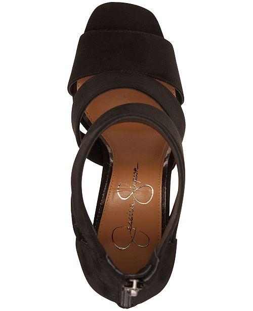 de465519b5 Jessica Simpson Cerina Strappy Stiletto Heel Sandals & Reviews ...