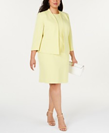 Kasper  Plus Size Jacket & Sheath Dress