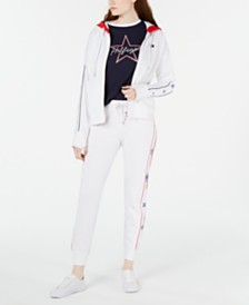 Tommy Hilfiger Sport Star-Trim Zip Jacket