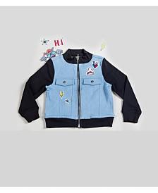 Kinderkind  Boy's Mixed Media Patchwork Jacket