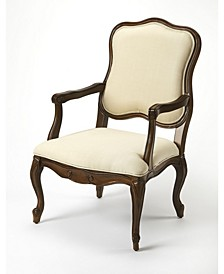 CLOSEOUT! Butler Clea Cherry Accent Chair
