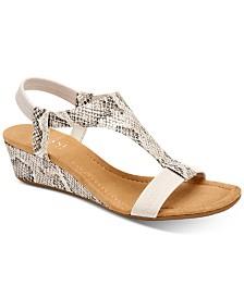 Alfani Women's Step 'N Flex Vacanzaa Wedge Sandals, Created for Macy's