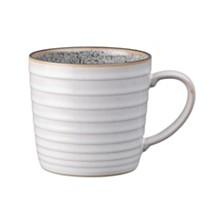 Denby Studio Craft Grey/White Ridged Mug
