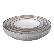 Denby Studio Craft Grey 4 Piece Nesting Bowl Set