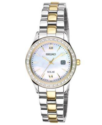 women's seiko solar watch