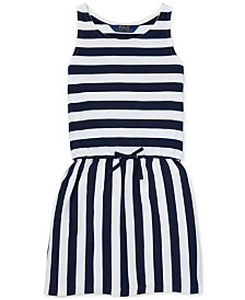 Polo Ralph Lauren Toddler Girls Striped Cotton Jersey Dress