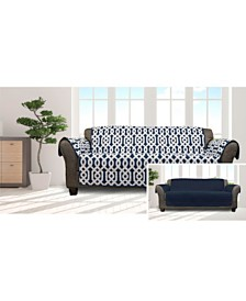 Ashmont Home Reversible Waterproof Sofa Cover