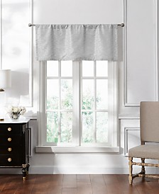 "Lucida Spa Lace Tailored Valance, 50"" x 18"""