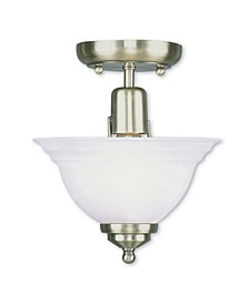 CLOSEOUT!   North Port 1-Light Ceiling Mount