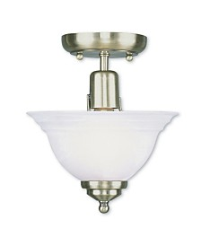 CLOSEOUT! Livex   North Port 1-Light Ceiling Mount