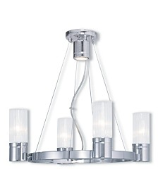 CLOSEOUT! Livex   Midtown 4-Light Chandelier
