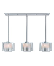 Hilliard 3-Light Linear Chandelier