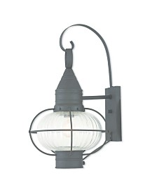 "CLOSEOUT! Livex   Newburyport 1-Light 20.75"" Wall Lantern"